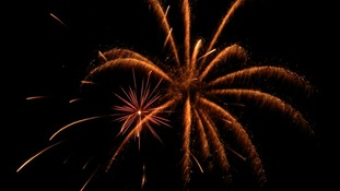 Firework displays will be taking place across the region