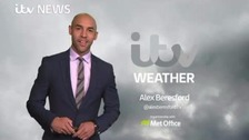 Fog warning for the south