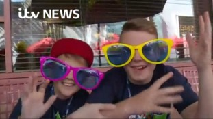 Living the dream: Sick and disabled children enjoy trip of a lifetime