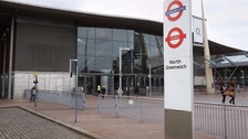 Man on explosives charge over London Tube evacuation