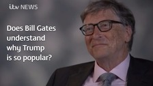 Bill Gates on Brexit, Trump and UK science 'uncertainty'