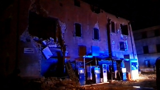 An earthquake has struck near the Italian city of Perugia.