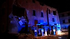 Second stronger earthquake hits central Italy