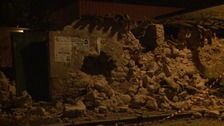 Aftershocks hit Italy two months after devastating earthquake