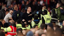Arrests after fans clash during West Ham v Chelsea game