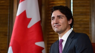 Canadian Prime Minister Justin Trudeau was due to fly to Brussels.