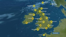 Weather: Murky start but brightening up later