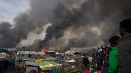 Children left with 'nowhere to go' after Calais 'Jungle' camp clearance