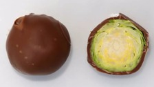 Hallowe'en joke about chocolate-covered sprouts goes global