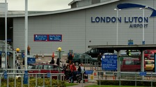 Pair arrested at Luton Airport 'attempted to fly to Syria'