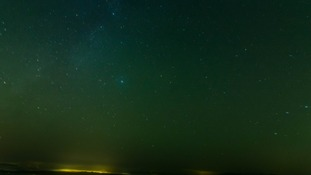 Northern Lights over Dartmoor