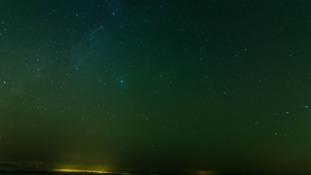 Northern Lights over Dartmoor