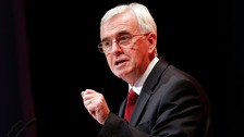 Shadow chancellor John McDonnell warned of a