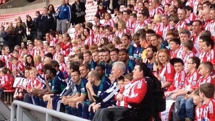 Sunderland Football Club is staging its biggest ever team photo