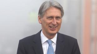 Hammond: GDP growth 'very good news' ahead of Brexit talks