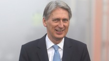 Hammond: GDP growth 'very good news' ahead of Brexit talks