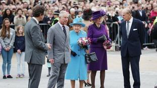 Royals in Poundbury