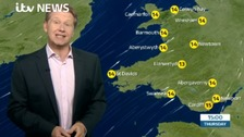 Wales weather: Some patchy rain and hill fog likely