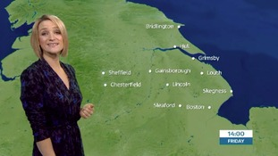 Early morning weather forecast with Kerrie Gosney