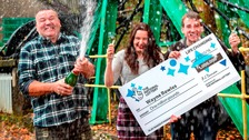 Full-time carer becomes a millionaire after lotto win