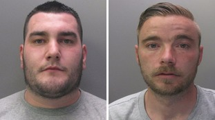Joel Lawson and Mark Lintott were found guilty of manslaughter and robbery at Peterborough Crown Court.