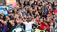 Christian Atsu Newcastle United Foundation's holiday camp