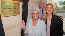 Jo Cox's family unveils new birthing centre in Dewsbury