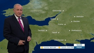 Cloudy with some sunny spells in the West