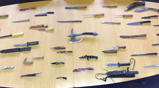 More than 50 knives handed in during week long amnesty