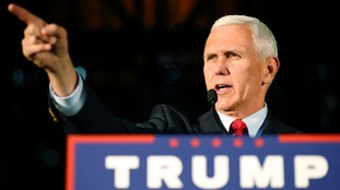 Mike Pence is Donald Trump's running mate.