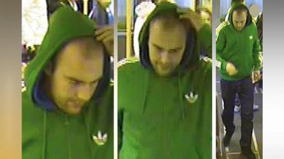 Police want to speak to this man in relation to Monday's incident