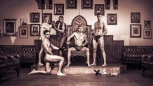 Cambridge University students bare all for charity calendar