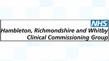 Hambleton, Richmondshire and Whitby CCG sign