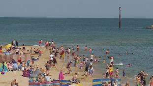 Sea Palling is a popular beach in Norfolk.