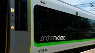 TRAINS: LONDON MIDLAND SERVICES DELAYED DUE TO TRESPASSER