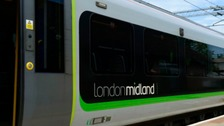 TRAINS: LONDON MIDLAND SERVICES DELAYED DUE TO TRESPASSER