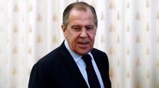 There have been no Russian air force strikes on Aleppo for 10 days says Sergei Lavrov.