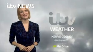 Weekend forecast with Kerrie