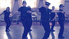 South Yorkshire Police release 'Thriller' dance video