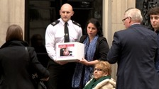 Family of terminally ill gran take their fight against deportation to Downing Street