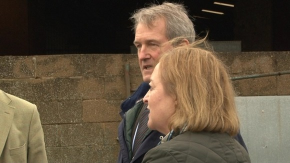 The Environment Secretary Owen Paterson has been in Northamptonshire today listening to the concerns of farmers and local businesses.
