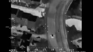 Watch: Banned driver in 130mph police chase through West Yorkshire