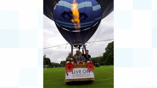 6 Regiment Army Air Corps prepares to launch this year's Poppy Appeal.