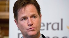 Nick Clegg set to return to Lib Dem front bench