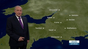 Cloudy, calm and misty for the West