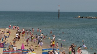 Sea Palling is a popular beach in Norfolk.