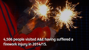 Accidents charity urges warning ahead of Bonfire Night