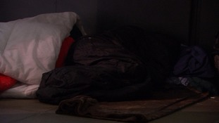 People sleeping rough in the UK has increased significantly since last year