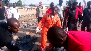 The Nigerian city of Maiduguri has been hit by a double suicide attack.