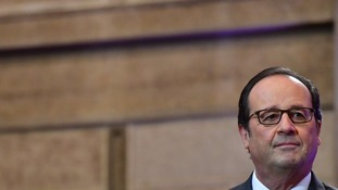 French president told Theresa May Britain must take on its share of responsibility in taking in minors from demolished 'Jungle'.